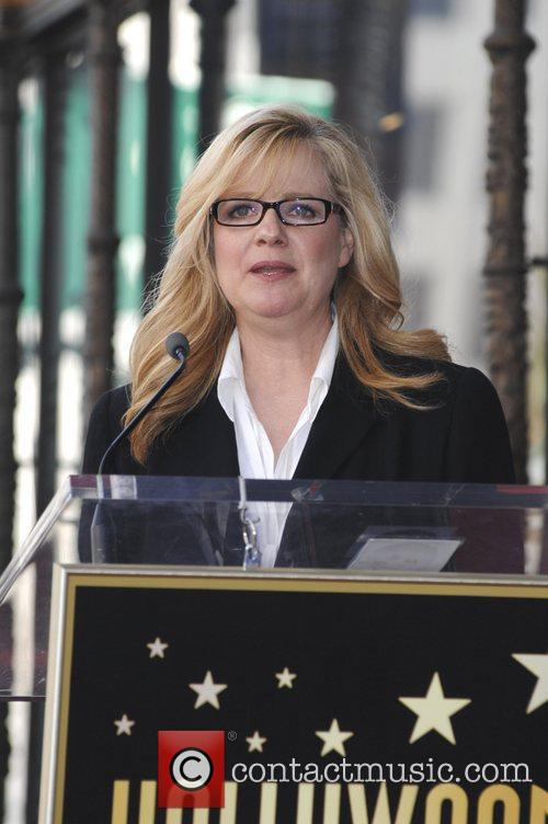 Bonnie Hunt and Walk Of Fame 4