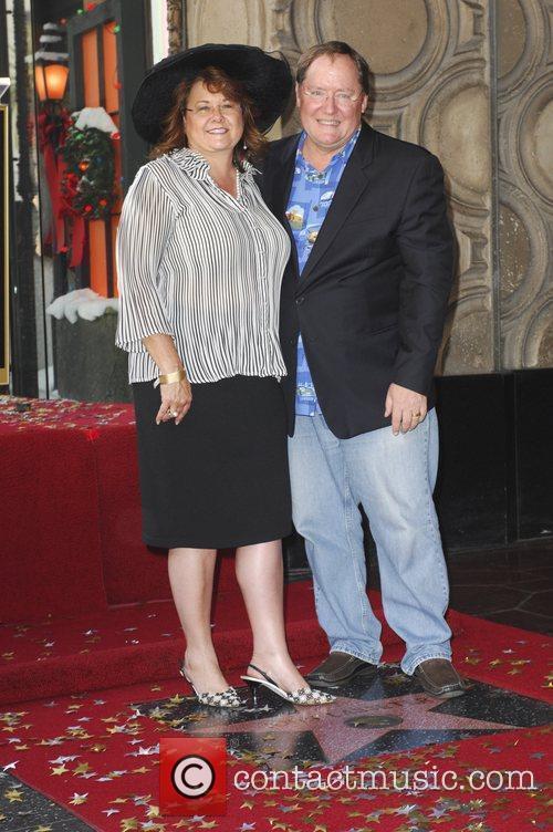 john lasseter and wife nancy john lasseter 3587883