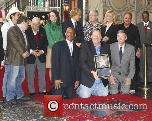 John Lasseter, Bonnie Hunt, Don Rickles, Emily Mortimer, John Ratzenberger, Owen Wilson, Patton Oswalt, Randy Newman and Star On The Hollywood Walk Of Fame 4