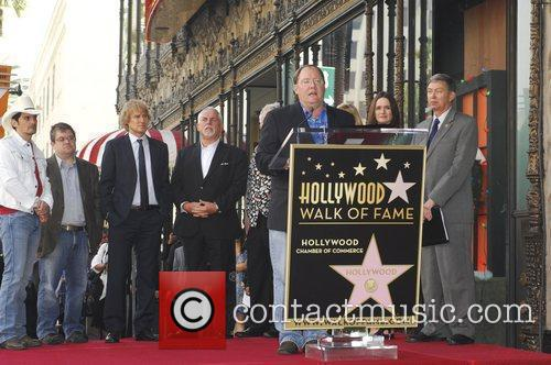 John Lasseter, Bonnie Hunt, Don Rickles, Emily Mortimer, John Ratzenberger, Owen Wilson, Patton Oswalt, Randy Newman and Star On The Hollywood Walk Of Fame 2