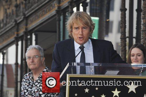 Owen Wilson and Walk Of Fame 9