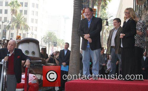 Don Rickles, Bonnie Hunt, John Lasseter and Star On The Hollywood Walk Of Fame 10