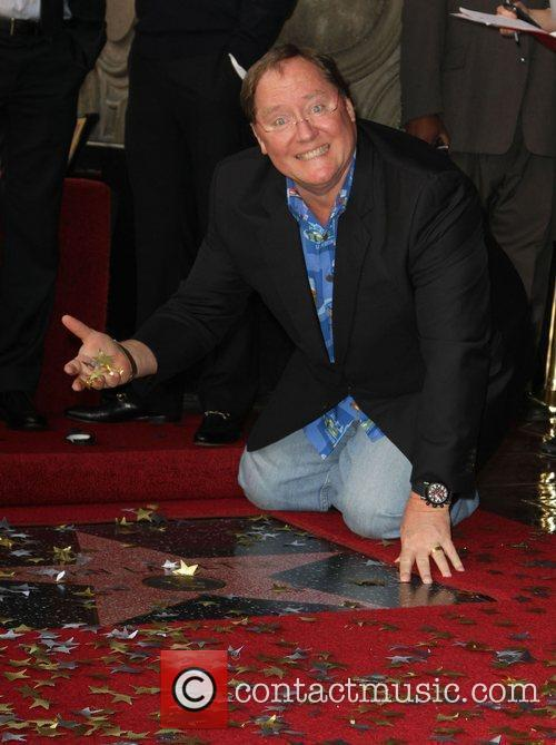 John Lasseter and Star On The Hollywood Walk Of Fame 3
