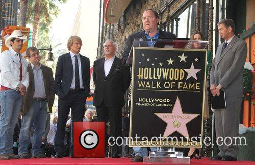 John Lasseter and Star On The Hollywood Walk Of Fame 1