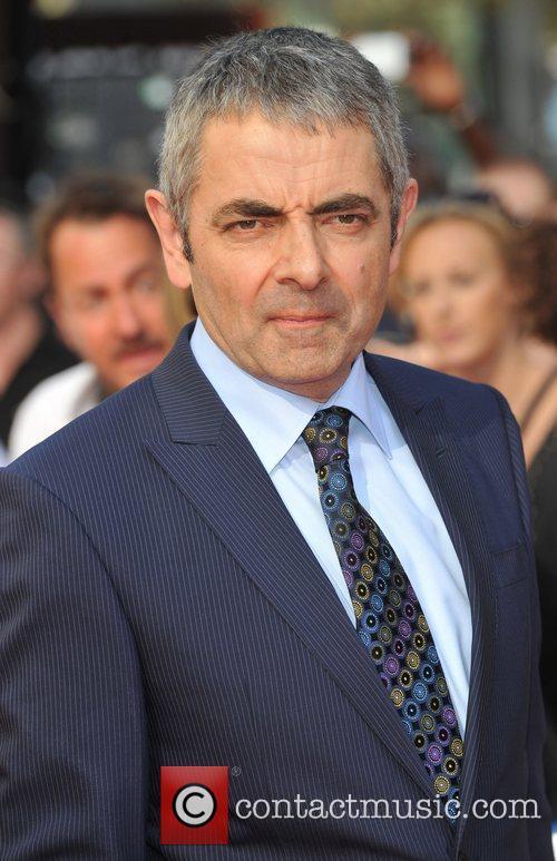 Rowan Atkinson, Johnny English Reborn Premiere, London