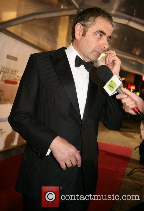 Rowan Atkinson The Dutch premiere of 'Johnny English...