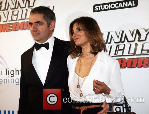 Rowan Atkinson and his wife Sunetra The Dutch...