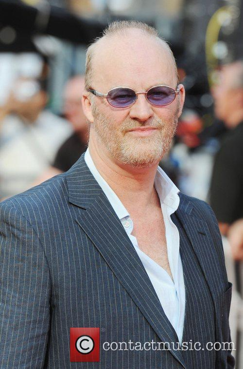 Tim McInnerney at the premiere of Johnny English...