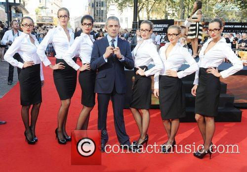 Rowan Atkinson, Johnny English and Empire Leicester Square 10