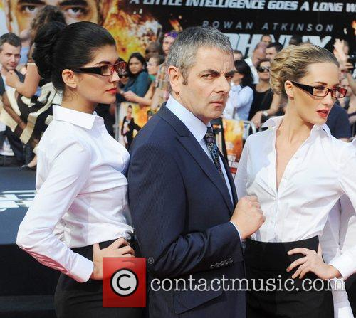 Rowan Atkinson, Johnny English and Empire Leicester Square 11