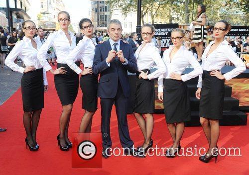 Rowan Atkinson, Johnny English and Empire Leicester Square 1