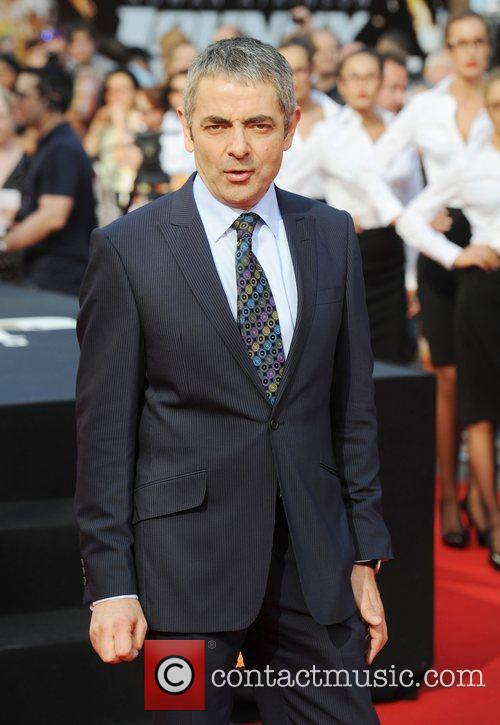Rowan Atkinson, Johnny English and Empire Leicester Square 14