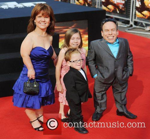 Warwick Davis, Johnny English and Empire Leicester Square 2