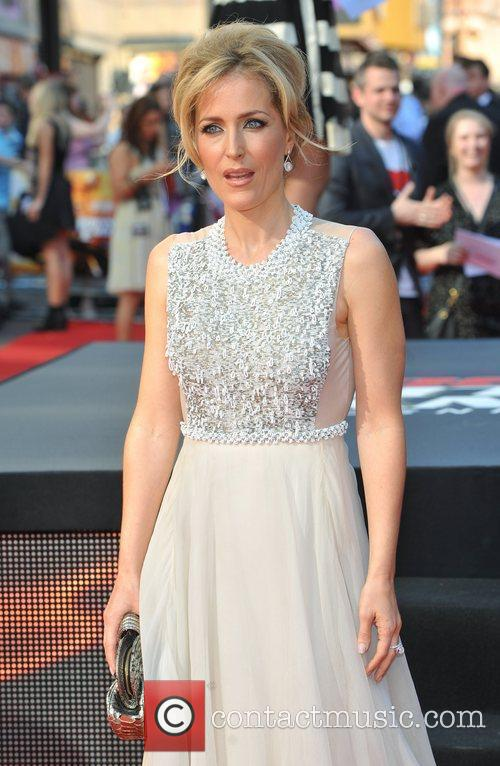 Gillian Anderson and Empire Leicester Square 10