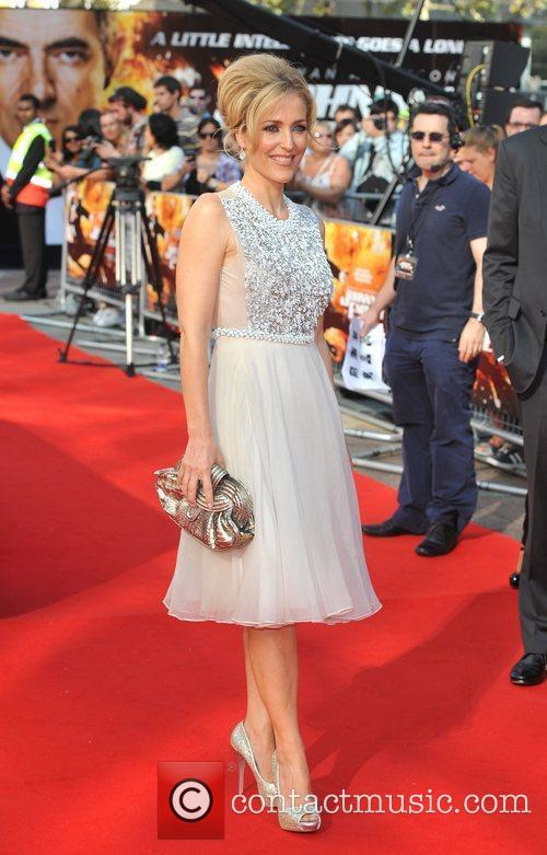 Gillian Anderson and Empire Leicester Square 11