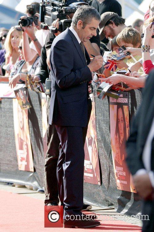 Rowan Atkinson The world premiere of 'Johnny English...