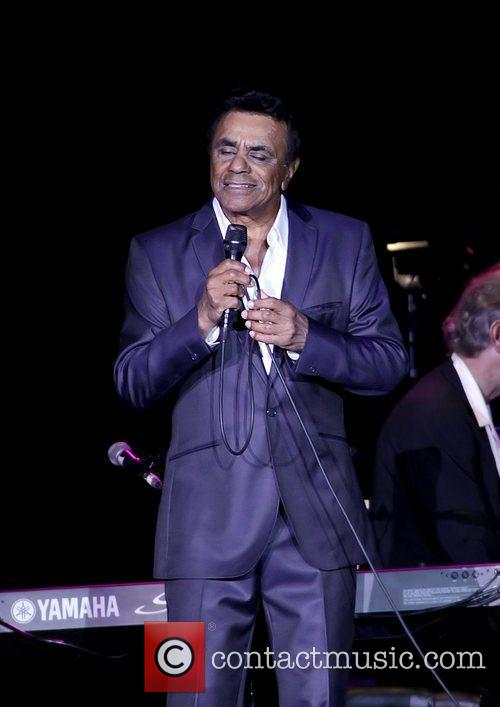 johnny mathis performing at manchester men arena 3561229