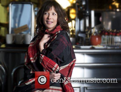 Actress Sophie Marceau  at Hotel Concorde La...
