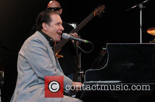 Jools Holland performing at Kenwood House London, England