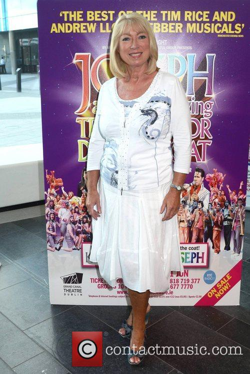 Anne Doyle Opening night of Joseph and the...