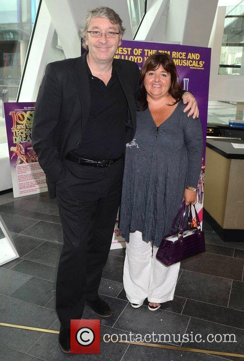 Colm Hayes, Ann Hayes Opening night of Joseph...