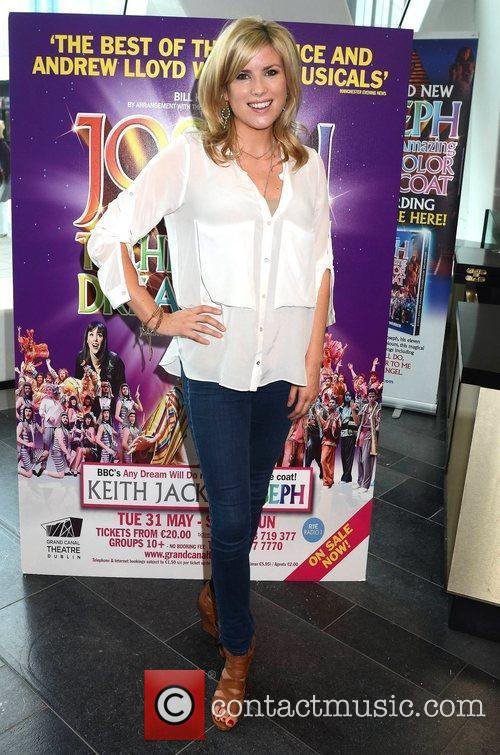 Jenny Buckley Opening night of Joseph and the...