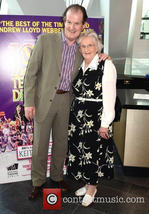 Aonghus McAnally & mother Roni Masterson Opening night...