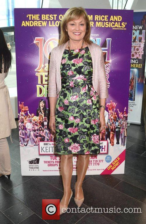 Mary Kennedy Opening night of Joseph and the...