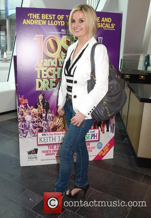 Siobhan O'Connor Opening night of Joseph and the...