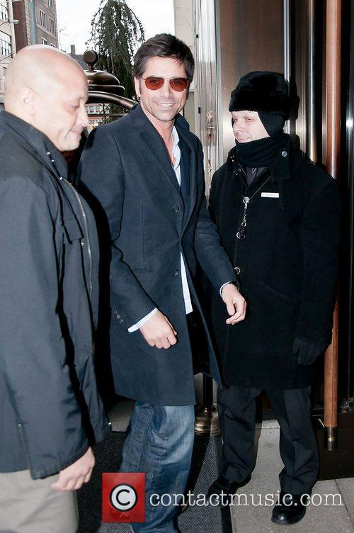 John Stamos out and about in Manhattan
