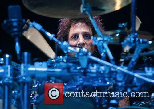 Deen Castronovo of Journey performing at Manchester MEN...