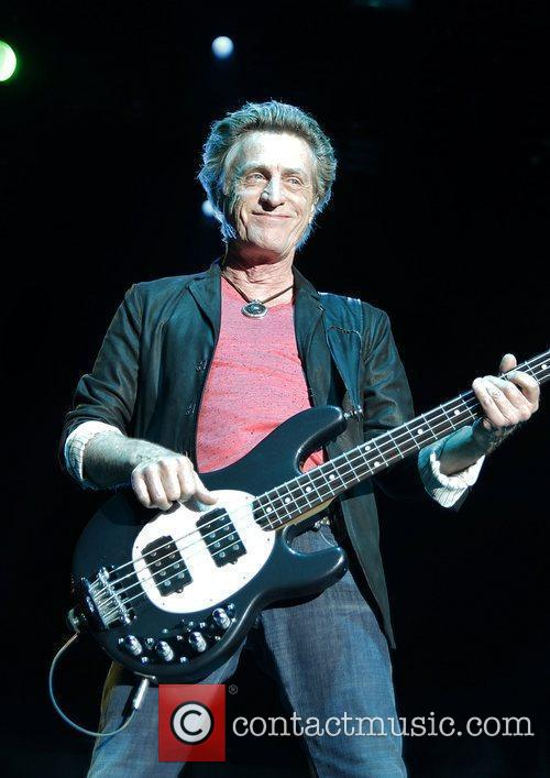 Ross Valory of Journey performing at Manchester MEN...