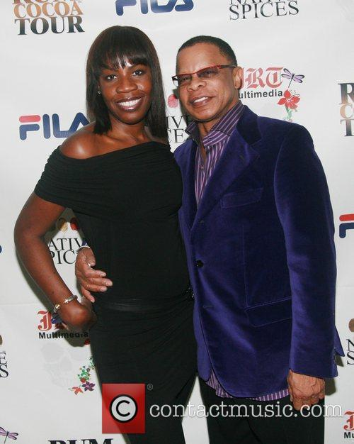Sandi Sheppard and Front Row Productions President/CEO Stephen...