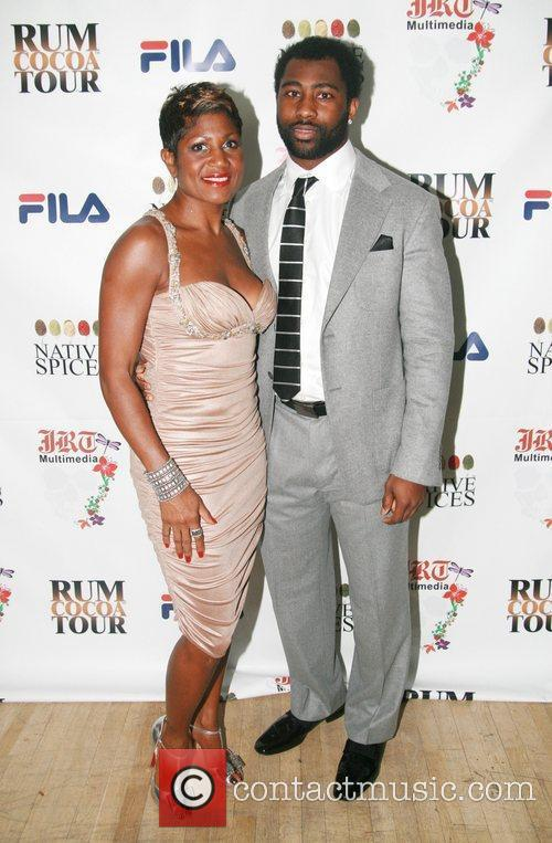 Jocelyn Taylor and Darrelle Revis  The birthday...