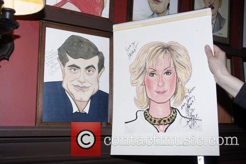 Unveiling of Judith Light's Sardi's caricature at Sardi's...