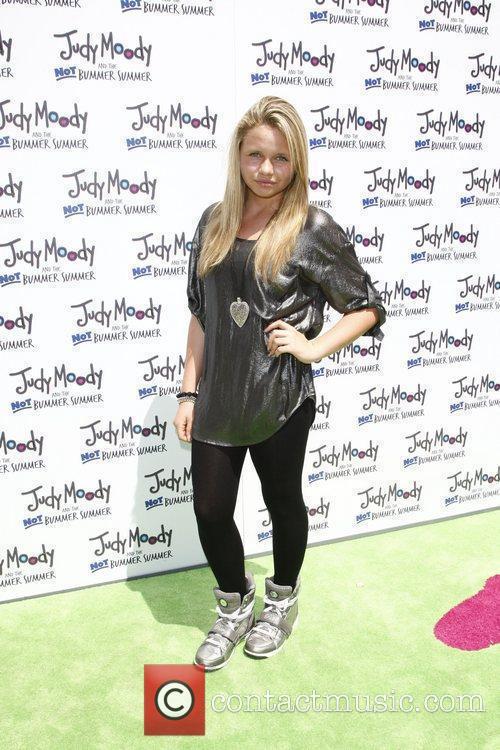 Alli Simpson Premiere of Relativity Media's 'Judy Moody...