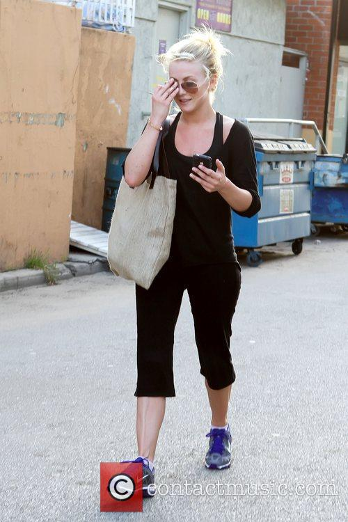 Julianne Hough leaving a gym in Studio City...