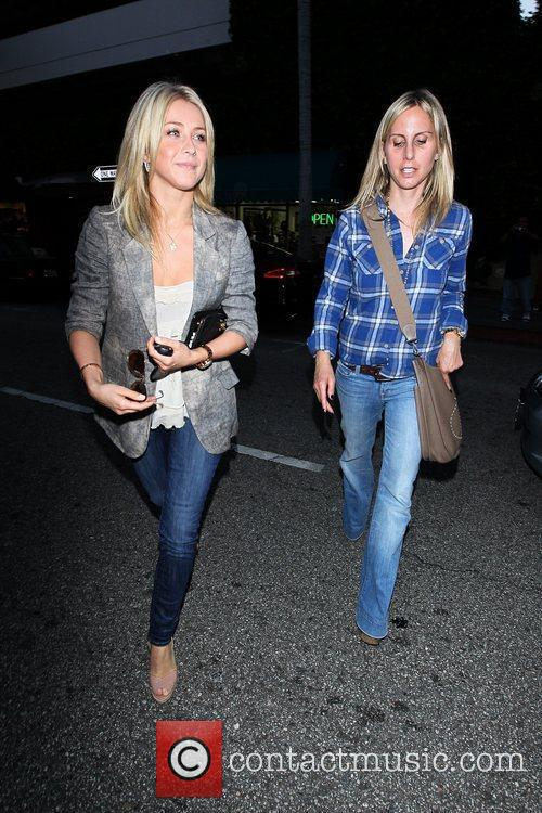 Julianne Hough leaving Beverly Hills Nail Design with...
