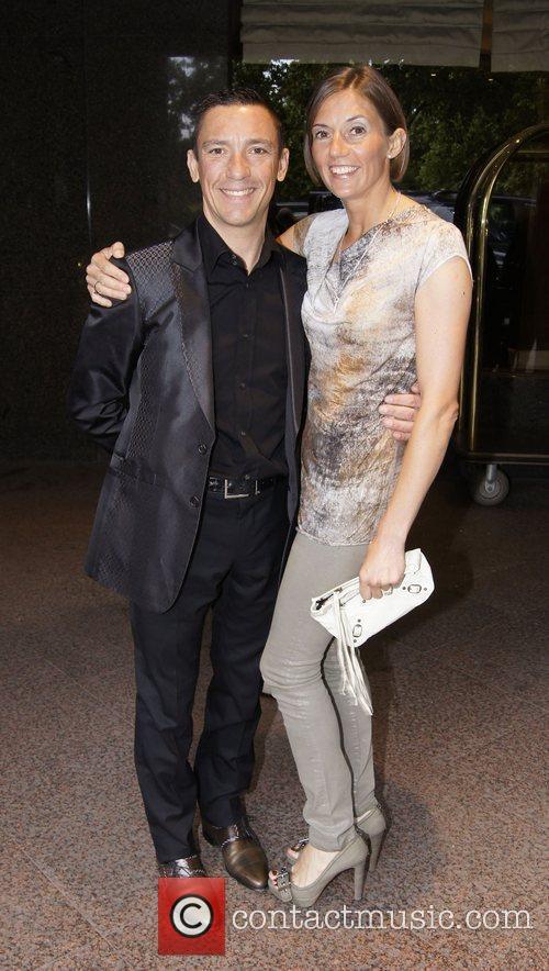 Frankie Dettori and Catherine Dettori at the 50th...