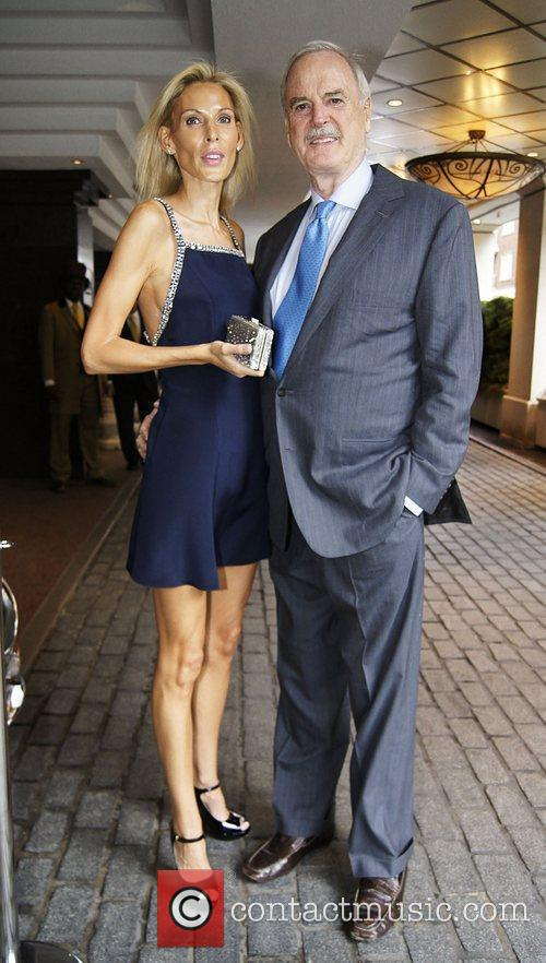 Jennifer Wade and John Cleese  at the...