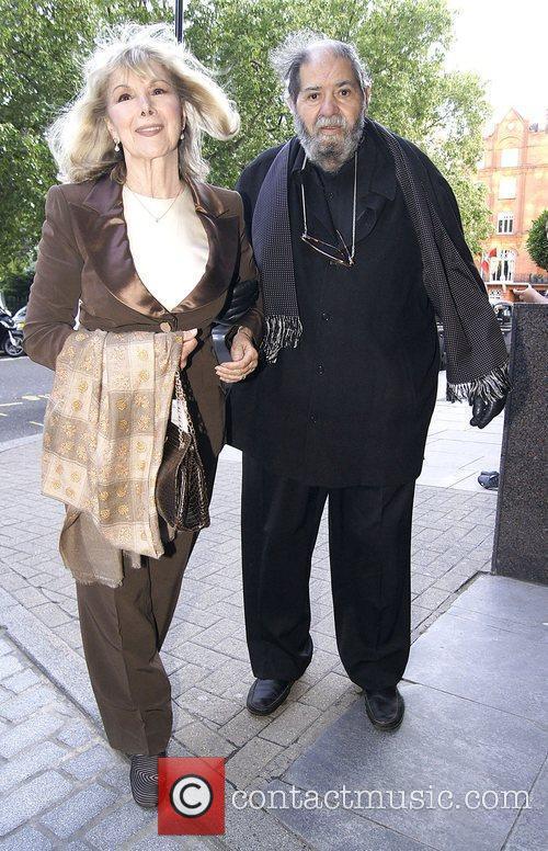 Susan Hampshire and husband Sir Eddie Kulukundis at...