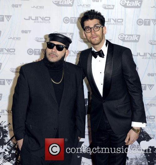 Patrick Gemayel and David Macklovitch of Chromeo...