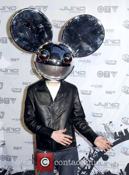 Deadmau5  2011 JUNO Awards held at the...