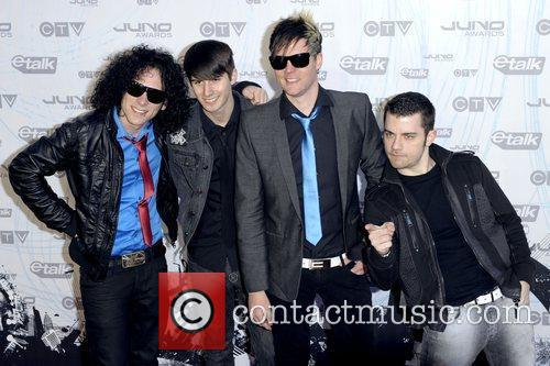 Faber Drive  2011 JUNO Awards held at...
