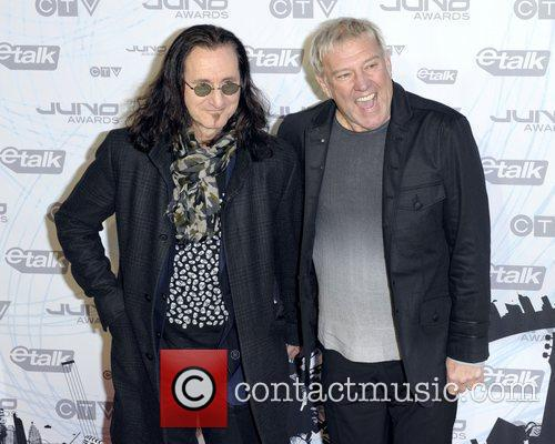 Geddy Lee and Alex Lifeson  2011 JUNO...