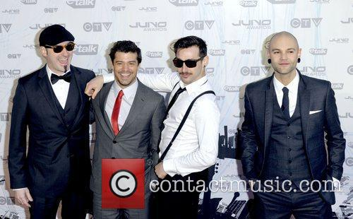 Hedley  2011 JUNO Awards held at the...