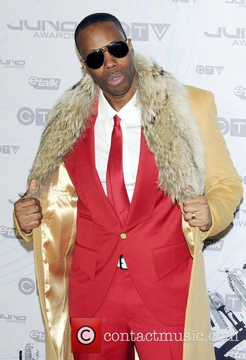 Kardinal Offishall  2011 JUNO Awards held at...