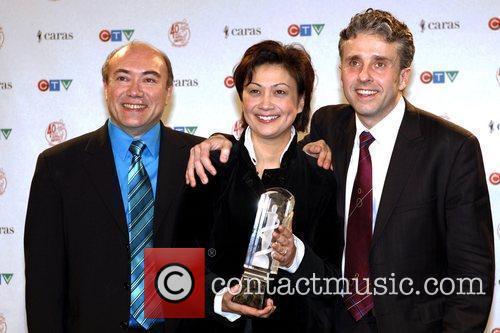 James Parker, Annalee Patipatanakoon and Roman Borys JUNO...