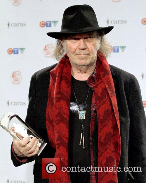 Neil Young JUNO Gala Dinner and Awards Show...