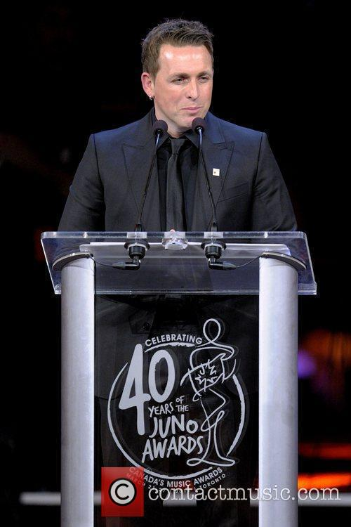 Johnny Reid  JUNO Gala Dinner and Awards...